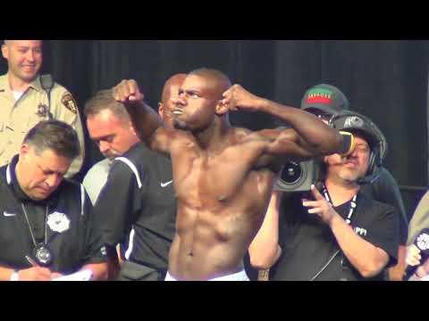 Andrew Tabiti vs. Steve Cunningham weigh in for undercard of Mayweather vs. McGregor