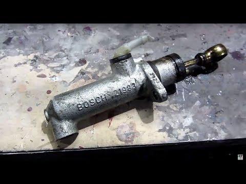 Замена главного цилиндра сцепления 166 2.4 JTD