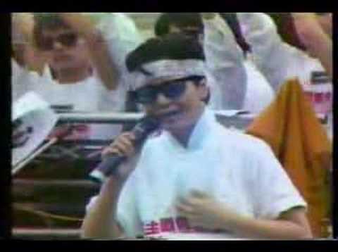 1989年邓丽君力排众议为六四献唱