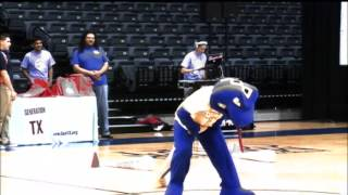 2013 College Signing Day - Mascot Dance Off