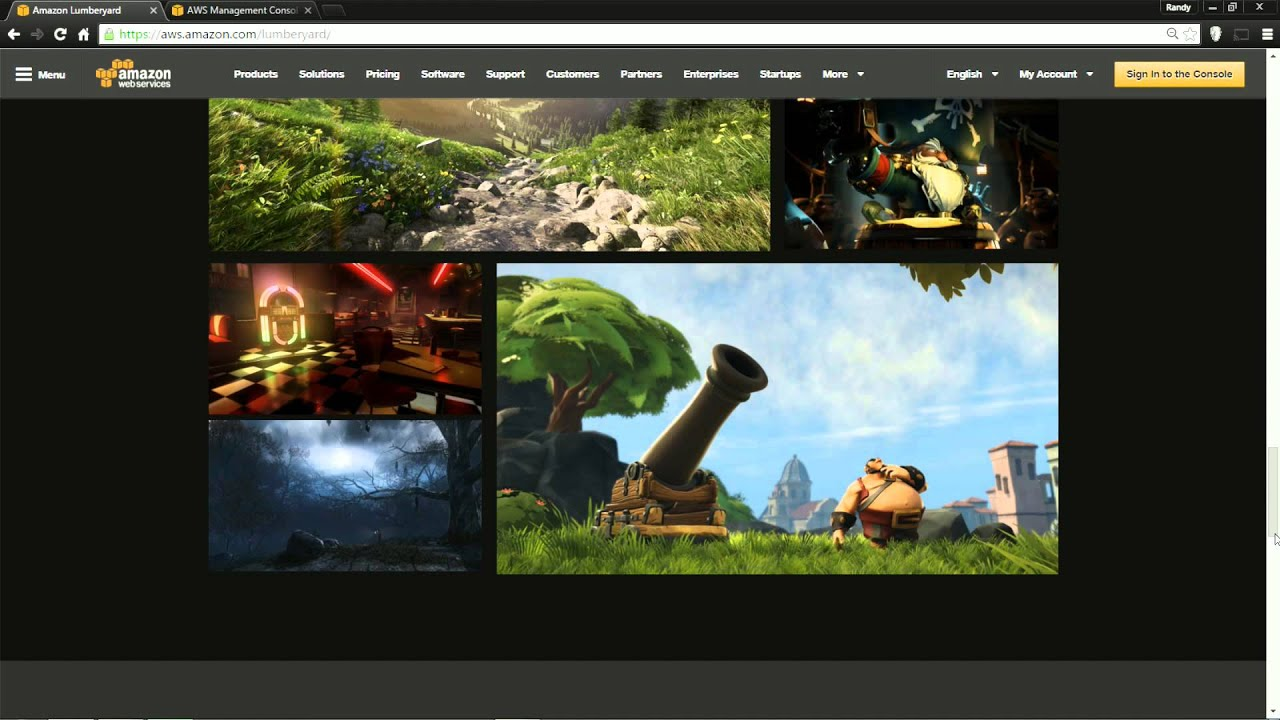 Amazon Lumberyard 1 15 Impressions - William Teh Design