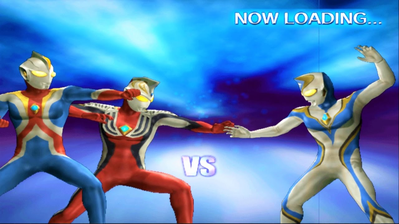 Sieu Nhan Game Play | Ultraman Cosmos và Ultraman Justice Đánh battle mode | Game Ultraman fe3
