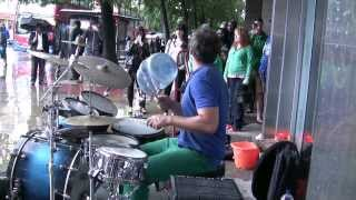 ODED KAFRI   THE BEST STREET DRUMMER EVER