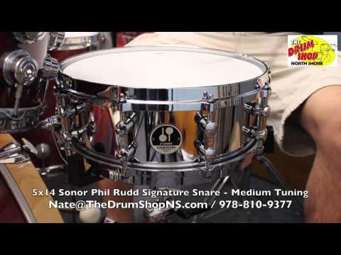 Sonor Phil Rudd Signature Snare 5x14 - The Drum Shop North Shore