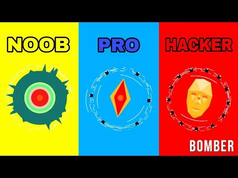 PLANET BOMBER - NOOB VS PRO VS HACKER