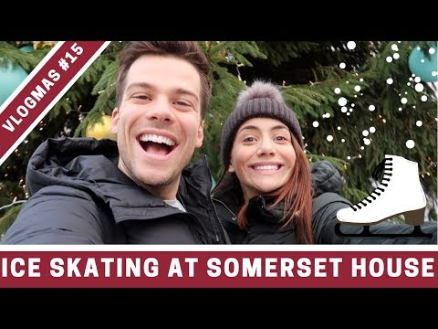 THE BEST OUTDOOR ICE SKATING IN LONDON | VLOGMAS DAY 15