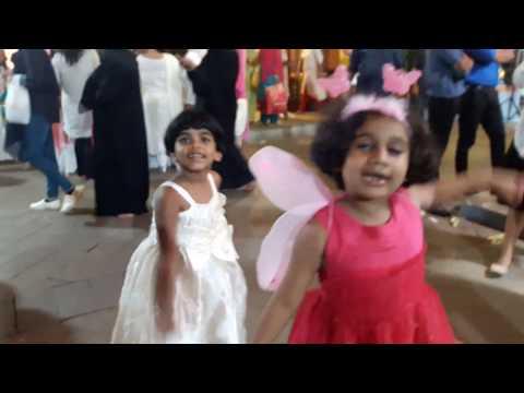 Ayisha with Irin at Springwood school Carnival 15th Dec 2018