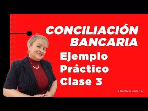 62. Conciliación Bancaria Ejemplo Práctico VIDEO 1 DE 2 _ ElsaMaraContable de YouTube · Duración:  19 minutos 22 segundos