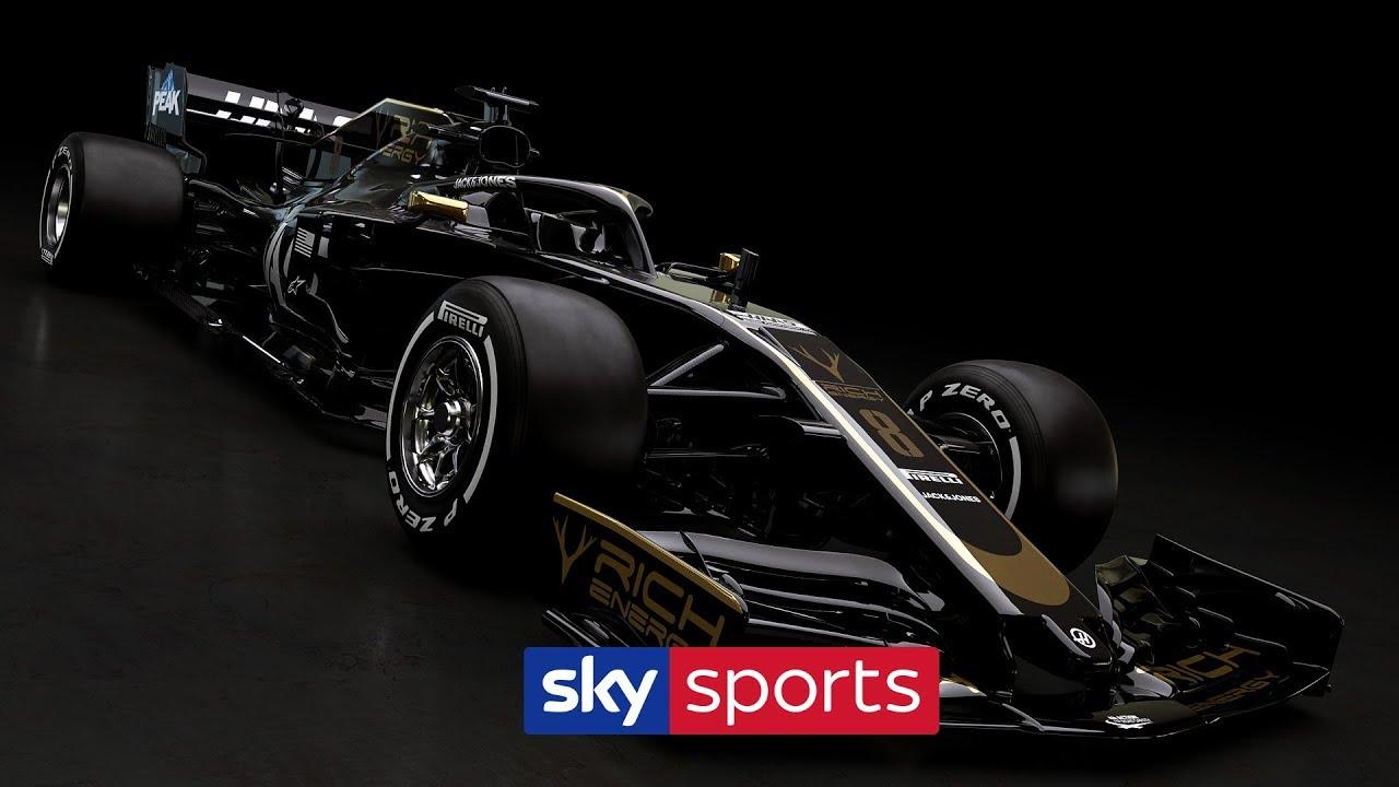 HAAS REVEAL NEW 2019 CAR! 🏎️ - Sky Sports