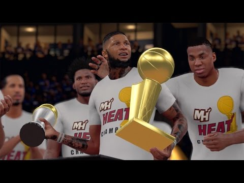NBA 2K16 MyCAREER S2 NBA Finals - Championship + Ring Ceremony! FINALS MVP! NEW TEAM!!!