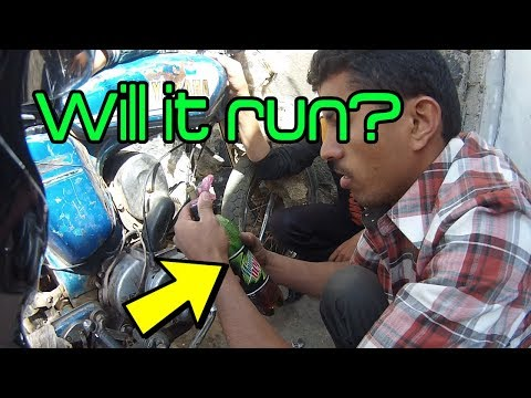 Mountain Dew Gas Bottle | Yamaha RX 100 | YEMEN