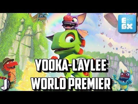 Yooka Laylee Gameplay Impressions at EGX2016 World Premier + Chris Sutherland Interview