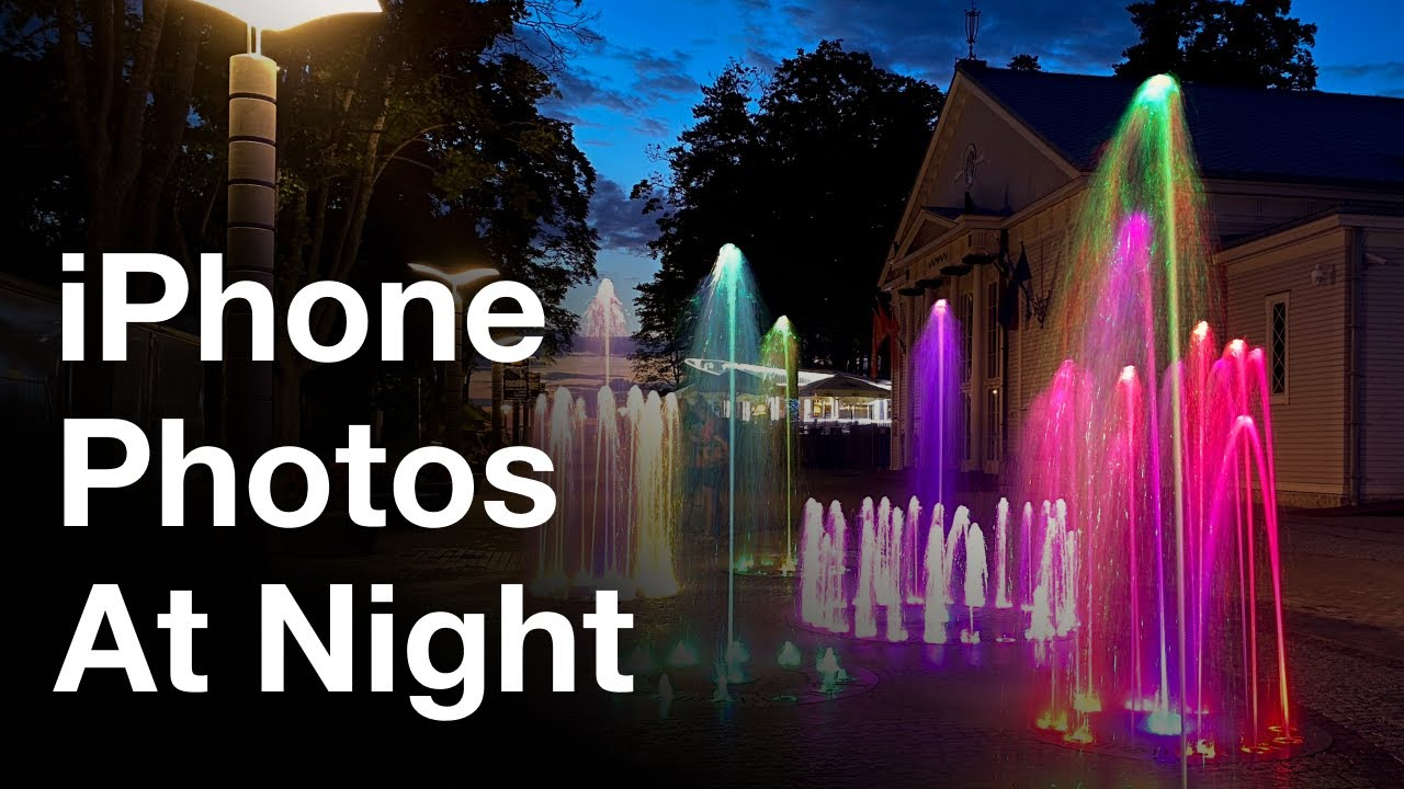 How To Take Sharp iPhone Night Photos