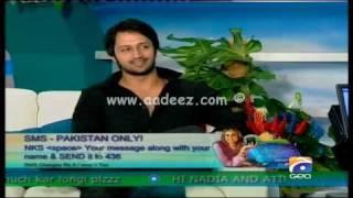 Atif Aslam - Nadia Khan Show Part 3 || www.aadeez.com