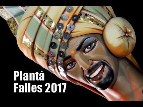 PLANTÀ FALLA CONVENTO JERUSALEN 2017   Falles 2017   Fallas 2017