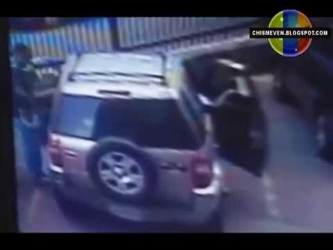 Así roban una camioneta en Los Ruices, Caracas-Venezuela