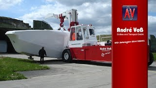 Schwerlaststapler XXL biggest Heavy Lift Truck of the world 100 ton
