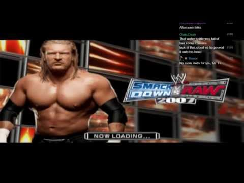LGWI - WWE SmackDown vs. Raw 2007 GM Mode with J2JonJeremy 1