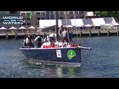 2017 Rolex Sydney Hobart Yacht Race Handicap Winners Arrivals, Ichi Ban and Quest