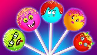 Funny Cake Pops Finger Family And Many More Nursery Rhymes Songs by Teehee Town