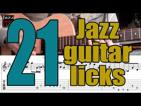 21 jazz guitar exercises | Lesson with tabs