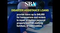 SBA Disaster Assistance - Public Service Announcement