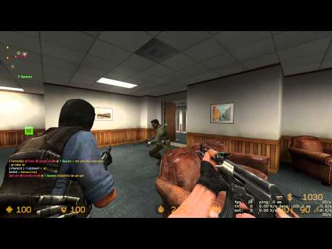 Let's Play! Counter Strike: Source Online Gameplay Footage | UKCS - Office Extreme! | 20 Jan 2013