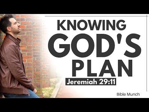 """God's Plan – Jeremiah 29:11 