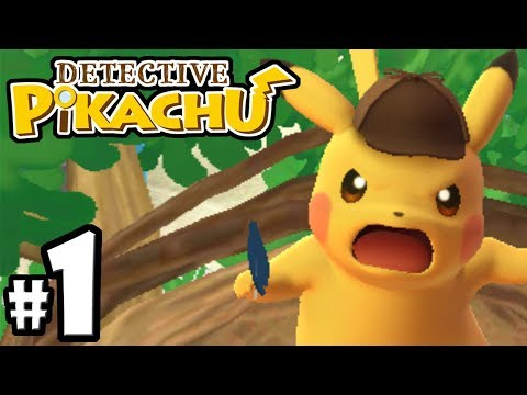 Detective Pikachu - Nintendo 3DS Pokemon Gameplay Walkthrough PART 1: Intro & Chapter 1 Case Solved
