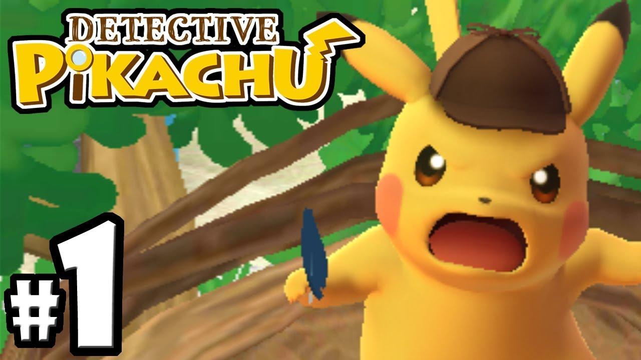 Detective Pikachu Nintendo 3ds Pokemon Gameplay Walkthrough Part