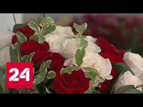 Город готовится к весне: в теплицах - миллионы тюльпанов и роз - Россия 24