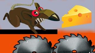 Огромные КРЫСЫ ЗАХВАТИЛИ ДОМ КРЫСЫ ВОРУЮТ Мультик игра для детей КРЫСЫ ПРОЧЬ #2