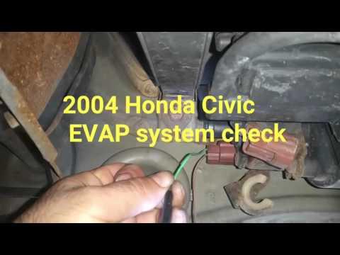 Honda P1457 EVAP Diagnostic Code PART 2   Doovi