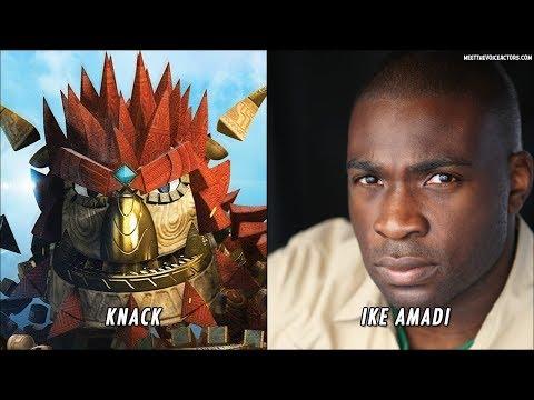 Knack 2 Characters Voice Actors