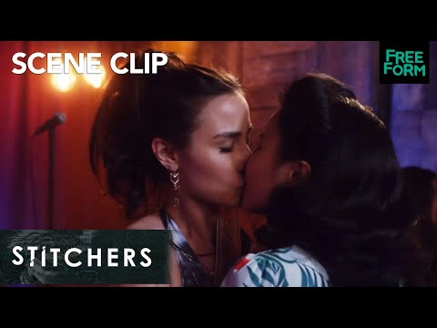 Stitchers | Season 3 Episode 9: #Camsten's First Time & #Camanda Kiss | Freeform