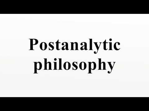 Postanalytic philosophy