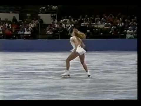 Tonya Harding (USA) - 1991 Skate America, Figure Skating, Ladies' Free Skate
