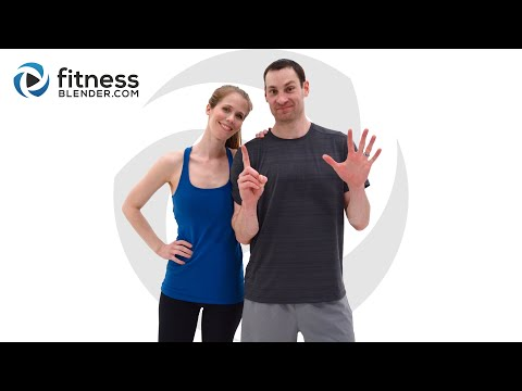 Fitness Blender 1000 Repetition Workout Challenging 500 Calorie Home Workout