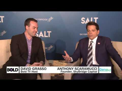 Anthony Scaramucci: 'Dust Yourself Off'; America Loves a Third Act