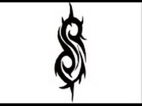 How to draw Slipknot S logo - YouTube