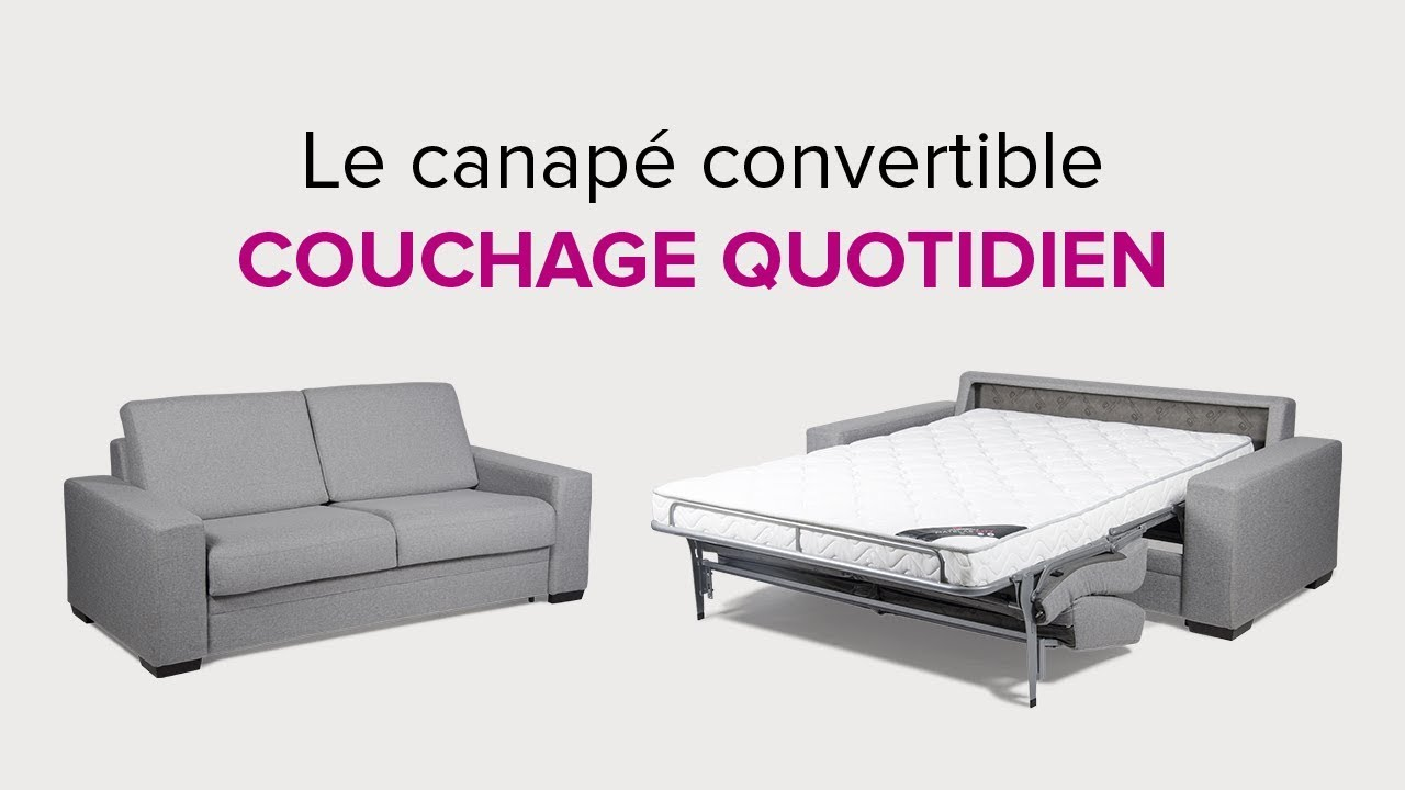 Maison du lit dcouvrez la galerie photos modular for Convertible couchage quotidien