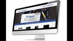 TV Repair Web Design Ft Worth TX   WEF TV Repair