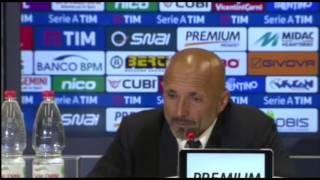 """Conferenza Spalletti post Chievo: """"Sono contento della reazione della squadra. Scossa dopo il derby"""""""