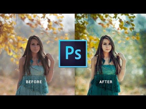 Photoshop cc tutorial: EDIT YOUR SHITTY Photo | Outdoor Portrait Editing