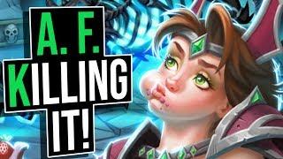 I Am A. F. Killing It!!   Battlegrounds   Hearthstone