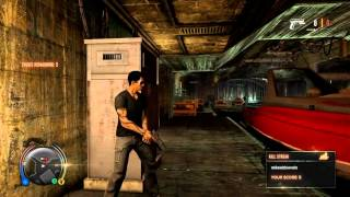 Sleeping Dogs Gameplay video - Surveillance Drug bust (Gun Fight)