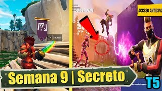 FIND THE SECRET STANDARD - #9 Week, Season 5 Fortnite Challenges
