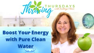 Boost Your Energy with Pure Clean Water