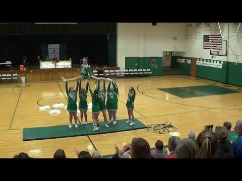 Bronaugh High School cheer demo 2018
