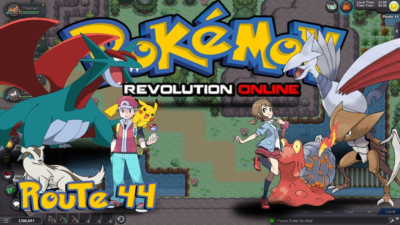 pokemon revolution online how to get to johto